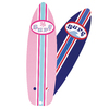 Hunter 4-Pack 42-in Pink/Blue Surfboard Ceiling Fan Blades