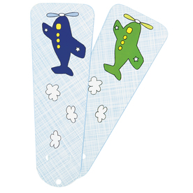 Hunter 4-Pack 42-in Blue/Green Airplanes Ceiling Fan Blades