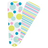 Hunter 4-Pack 42-in Turquoise Dots/Stripes Ceiling Fan Blades