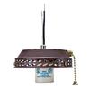 Hunter 1-Light Weathered Brick Fluorescent Ceiling Fan Light Kit