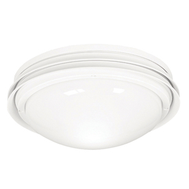 Hunter Low Profile Marine Ii™ 2-Light White Fluorescent Ceiling Fan Light Kit with Frosted Glass