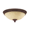 Hunter 2-Light Cocoa Ceiling Fan Light Kit with Scavo Shade