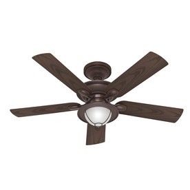 hunter 52 in maribel outdoor new bronze outdoor ceiling fan with light. Black Bedroom Furniture Sets. Home Design Ideas
