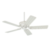 Prestige by Hunter Orchard Park 52-in Distressed White Downrod Mount Ceiling Fan