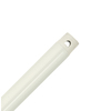 Hunter 48-in Satin White Ceiling Fan Downrod