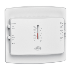 Hunter Square Mechanical Non-Programmable Thermostat