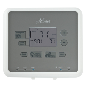 Hunter 5-2 Day Programmable Thermostat