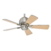 Hunter Orbit 36-in Brushed Nickel Downrod or Close Mount Indoor Ceiling Fan
