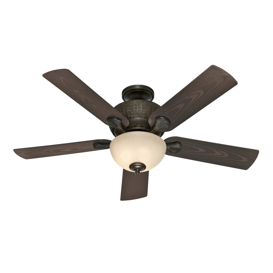 ... Black Outdoor Multi-Position Ceiling Fan with Light Kit at Lowes.com