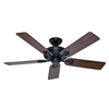 Hunter The Savoy 52-in Downrod or Close Mount Indoor Ceiling Fan (5-Blade) ENERGY STAR