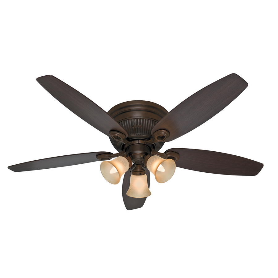 sienna flush mount ceiling fan standard with light kit at. Black Bedroom Furniture Sets. Home Design Ideas