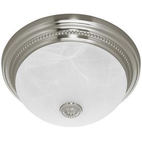 Harbor Breeze 1.5-Sone 70-CFM Nickel Bathroom Fan with Light