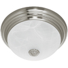 Harbor Breeze 1.5-Sone 70 CFM Nickel Bathroom Fan with Light