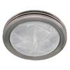 Harbor Breeze 2-Sone 80-CFM Nickel Bathroom Fan with Light