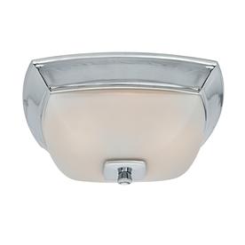 Harbor Breeze 2-Sone 80-CFM Chrome Bathroom Fan with Light