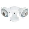 Hunter 3-Light White Fluorescent Ceiling Fan Light Kit