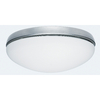 Hunter Low Profile 2-Light Antique Pewter Fluorescent Ceiling Fan Light Kit with Frosted Glass ENERGY STAR