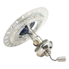 Casablanca Brushed Nickel and Brushed Cocoa LED Ceiling Fan Light Kit ENERGY STAR