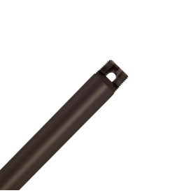 Casablanca 12-in Onyx Bengal Steel Ceiling Fan Downrod