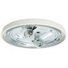 Casablanca Low Profile 2-Light Snow White Fluorescent Ceiling Fan Light Kit ENERGY STAR