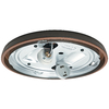 Casablanca Low Profile 2-Light Brushed Cocoa Fluorescent Ceiling Fan Light Kit ENERGY STAR