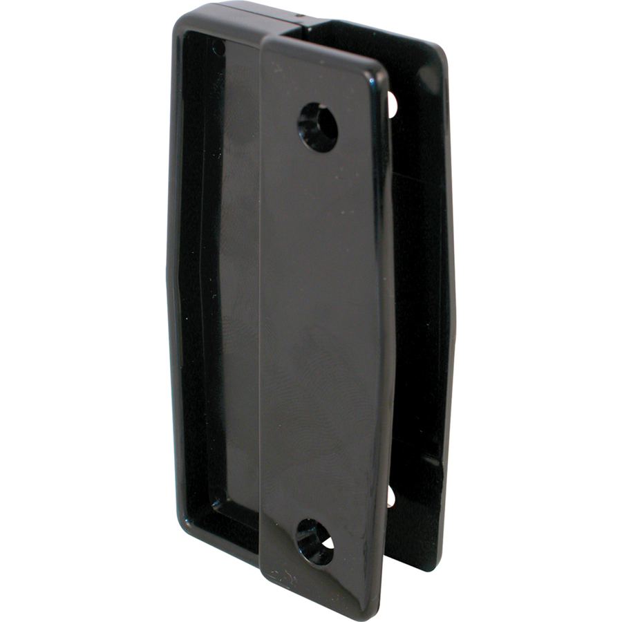 shop prime line black vinyl sliding screen door pull at
