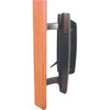 Prime-Line Black Mortise Lock Style Patio Door Handle