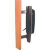 Prime-Line Black Mortise Lock Style Patio Door Handle