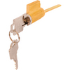 Prime-Line Cylinder Lock for Sliding Glass Door Handle Set