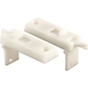 Prime-Line 2-Pack White Vinyl Horizontal Sliding Window Tilt Latch