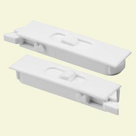 Prime-Line 2-Pack 2-1/4-in to 2-5/16-in Cam Action White Plastic Sliding Window Sash Locks