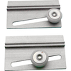 Prime-Line 2-Pack 0.75-in Oval Nylon Bathtub and Shower Door Roller Assemblies