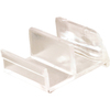 Prime-Line Clear Sliding Shower Door Bottom Guide