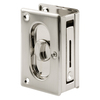 Prime-Line 2-1/2-in Nickel Privacy Pocket Door Pull