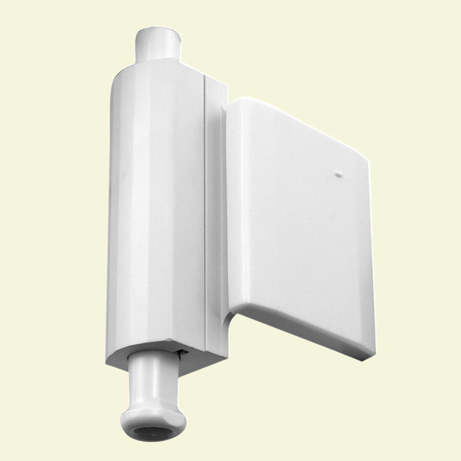 shop gatehouse patio door stop lock side mount white at
