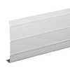 Amerimax 6-in x 12-ft White Woodgrain Aluminum Fascia