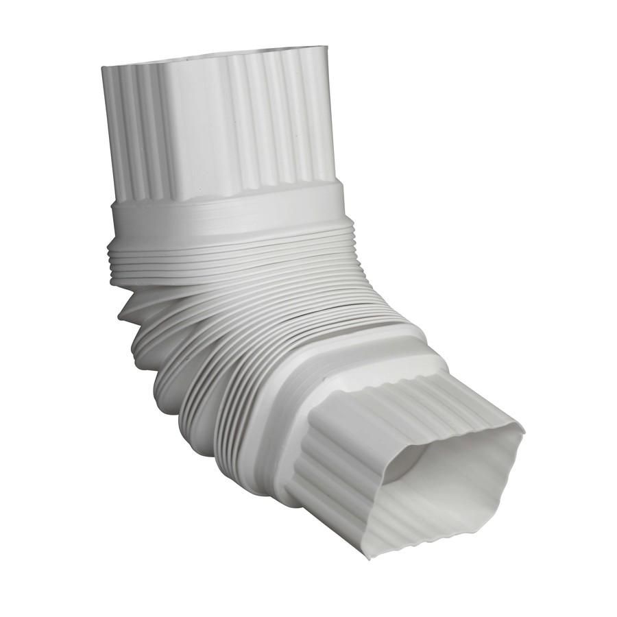 White Flex Elbow 2 x 3 inches