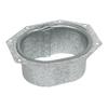 Amerimax 4.75-in x 3.25-in K Style Gutter Drop Outlet
