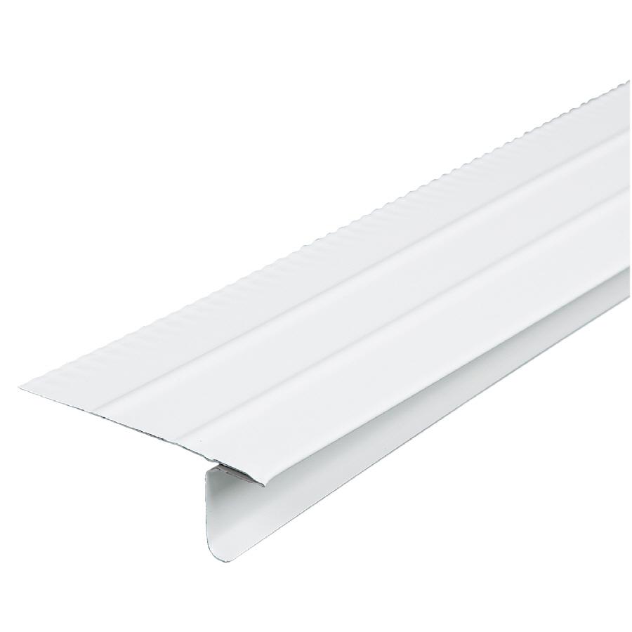 shop amerimax x 10 ft galvanized steel drip edge