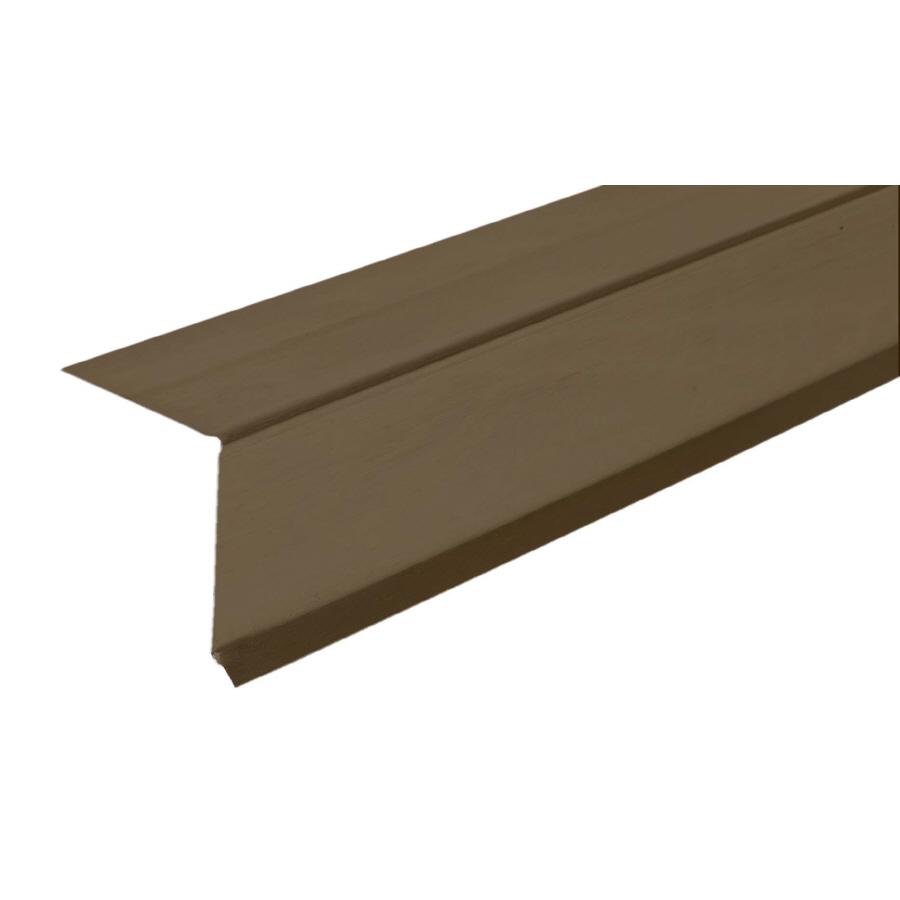 Steel Drip Edge : Shop amerimax in ft galvanized steel drip edge at