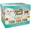 FANCY FEAST 24-Pack 3 oz Seafood Adult Cat Food Variety Pack