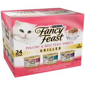 FANCY FEAST 24-Pack 3-oz Adult Cat Food Variety Pack