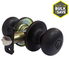 Gatehouse Baron Aged Bronze Mushroom Keyed Entry Door Knob