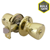 Gatehouse Gallo Polished Brass Tulip Turn-Lock Residential Privacy Door Knob