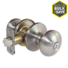 Gatehouse Baron Satin Nickel Mushroom Residential Keyed Entry Door Knob
