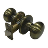 Gatehouse Baron Antique Brass Mushroom Residential Passage Door Knob