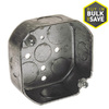 Raco 1-Gang Gray Metal Interior New Work/Old Work Standard Octagonal Celing/Wall Electrical Box
