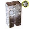 Raco 1-Gang Gray Metal Interior New Work Standard Handy Celing/Wall Electrical Box