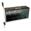 Raco 63.5-cu in 4-Gang Metal New Work Wall Electrical Box