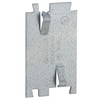 Raco 1-Gang Gray Steel Interior New Work Rectangular Ceiling/Wall Electrical Box